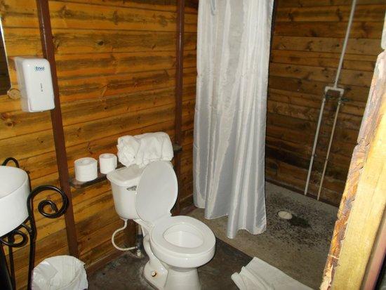 Hostal Garden by Refugio del Rio: Bathroom in Tree House