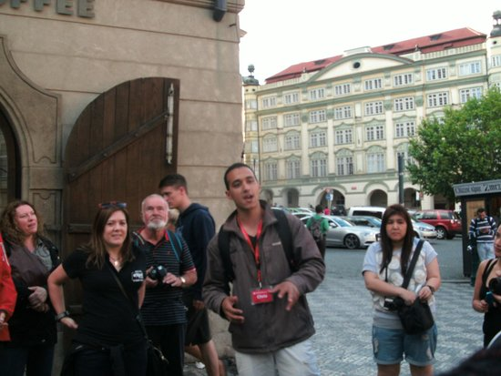 SANDEMANs NEW Europe - Prague : Chris Tour Guide
