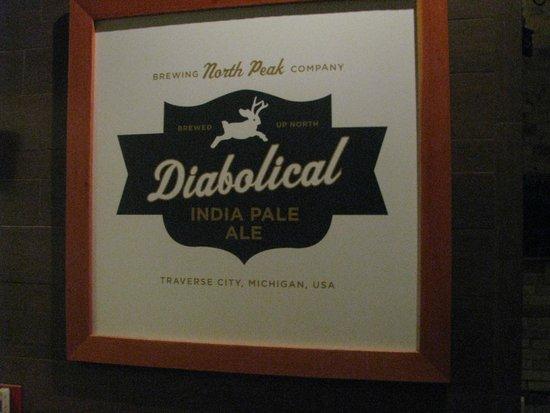 North Peak Brewing Company: Love the title.