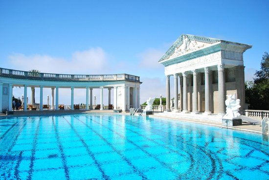 Hearst Castle : Grecian inspired pool