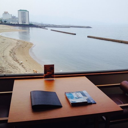 Hotel Umine : お部屋から見える海!