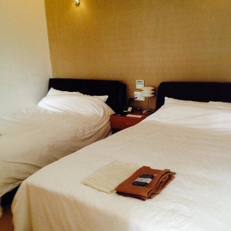 Hotel Umine : ダブルベッドのツインでゆっくり!