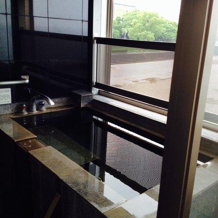 Hotel Umine : お部屋の露天風呂!