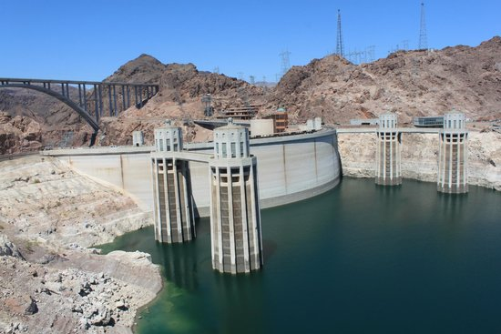 Hoover Dam -- July 2014
