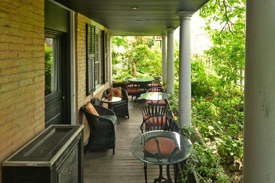 Porches on the Towpath: Lower Porch