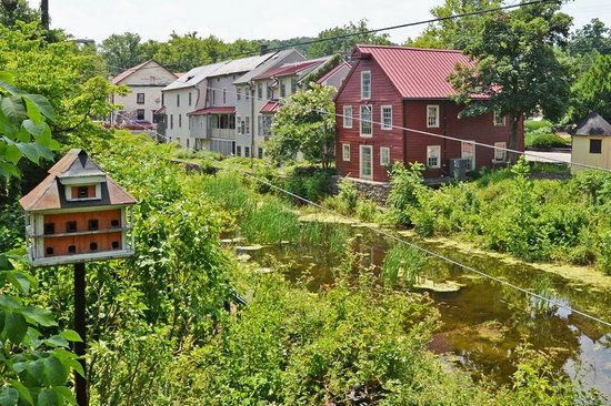 Porches on the Towpath: View from porch