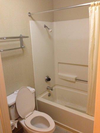 Good Nite Inn Sylmar: El baño, el cual es muy pequeño.
