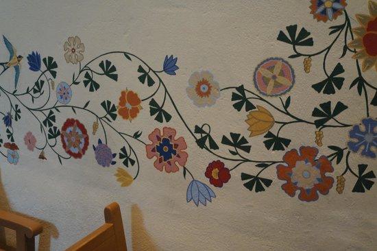 Mission San Luis Obispo de Tolosa: Wall Decoration