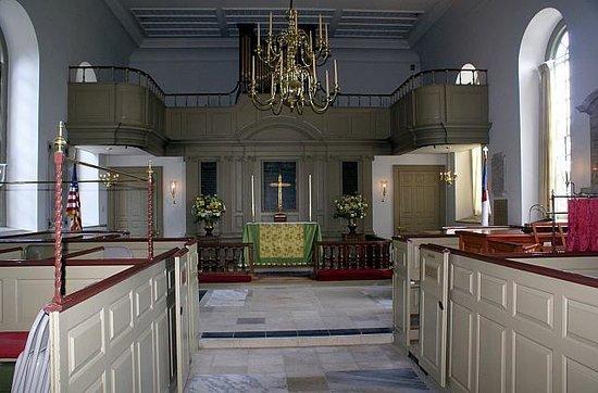 Colonial Williamsburg : Bruton Parish Church