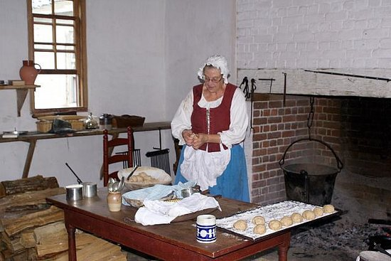 Colonial Williamsburg : Kitchen in the Governor's palace