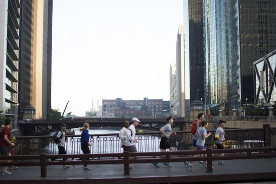 City Running Tours-Chicago: The Chicago River