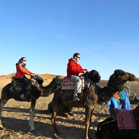 Ouarzazate Unlimited Marrakech Day Tours: Camel trek at Erg Chebbi