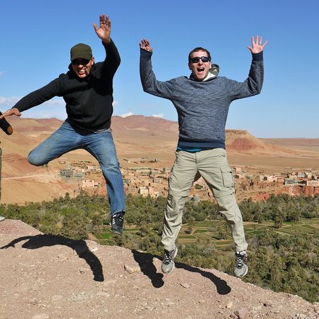 Ouarzazate Unlimited Marrakech Day Tours : Clowning around with Jaouad