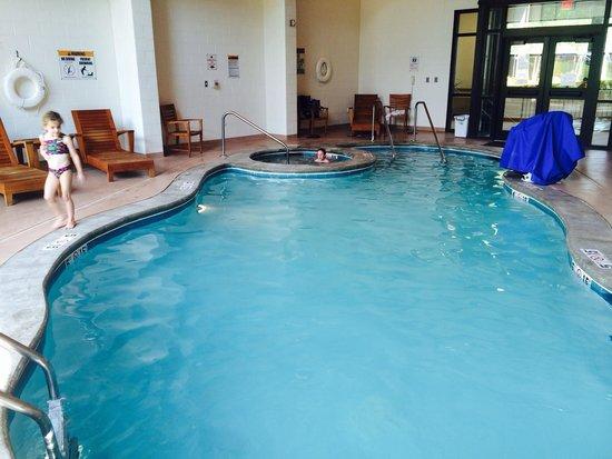 Twin Falls Lodge: Indoor pool and hot tub