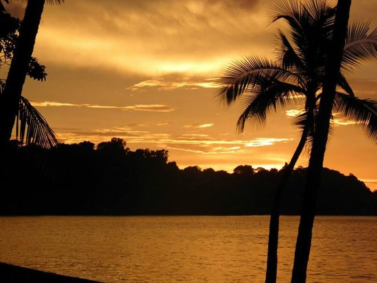 Casita Corcovado: Never miss a sunset