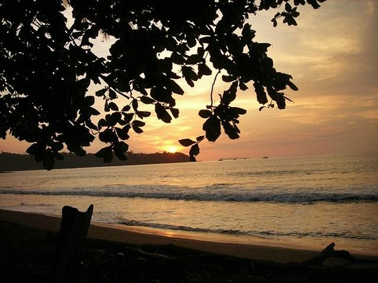 Casita Corcovado: Beautiful sunsets