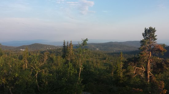 Norefjell Ski & Spa: utsikt kjærlighetshaugen
