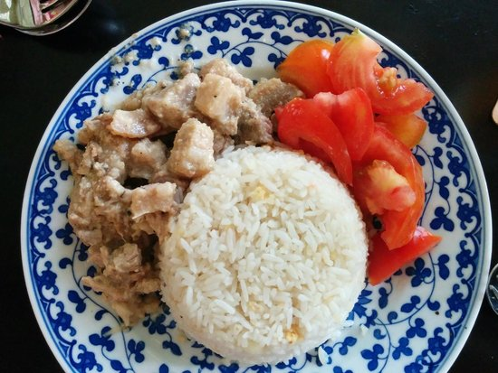 Soohongry: Adobo pork rice