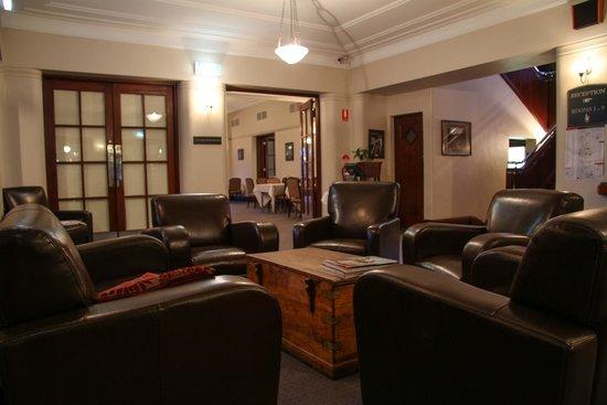 Yallingup Caves Hotel Restaurant: Reception