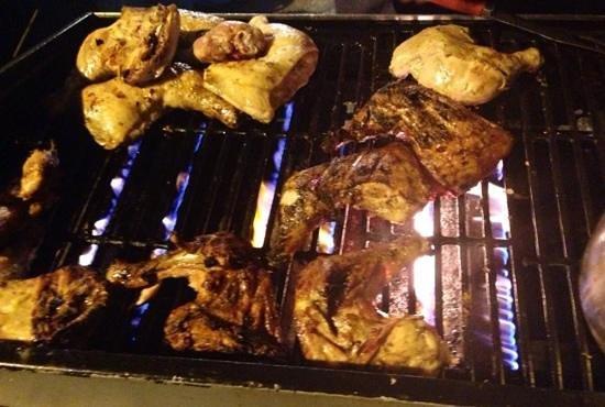 Gros Islet Street Party : Wonderful food!