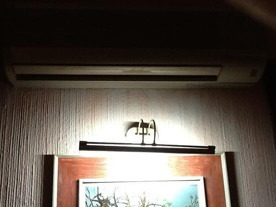 Hotel Park Villa: muy obscuro