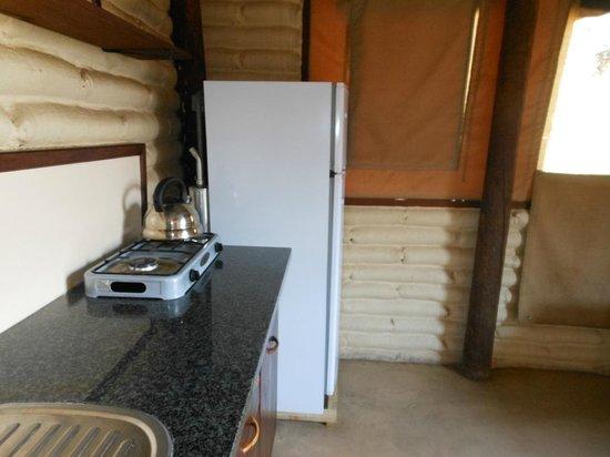 Kalahari Tented Camp: Kitchen