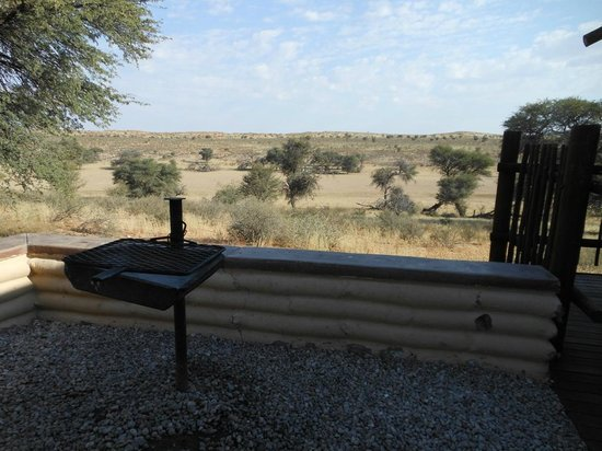 Kalahari Tented Camp: Barbeque with view