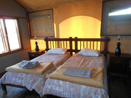 Kalahari Tented Camp: Bedroom