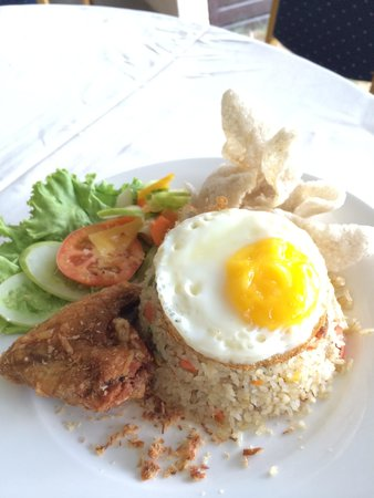 Bayou Lagoon Park Resort : Nasi goreng, big portion