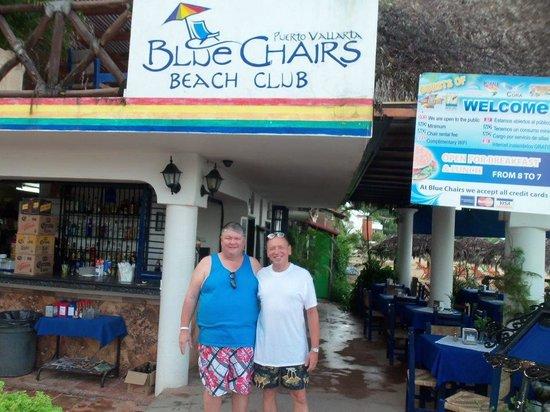 Blue Chairs Beach Club Restaurant & Bar: don and bruce