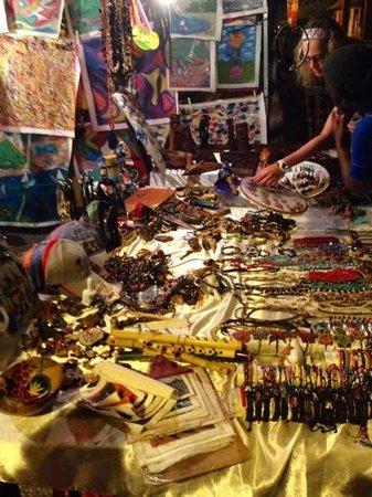 Gros Islet Street Party : a street vendor