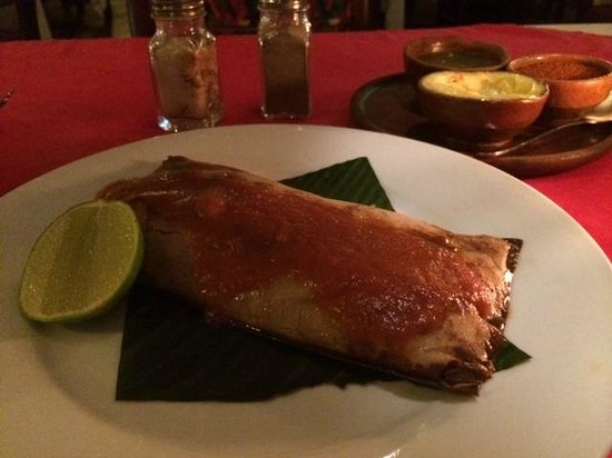 Kacao: tamale apperizer;good to share