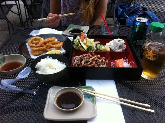 Flying Ninja Sushi and Bar: Para terminar el dia!