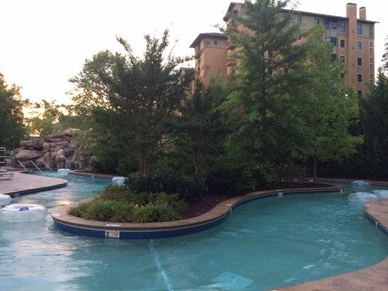 RiverStone Resort & Spa: Lazy River at sunset