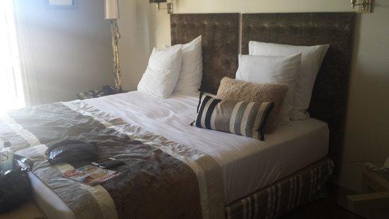 La Bastide St Georges: le lit