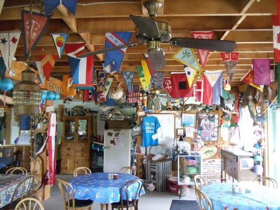 Explore Pelee: Fun atmosphere when dining on Pelee