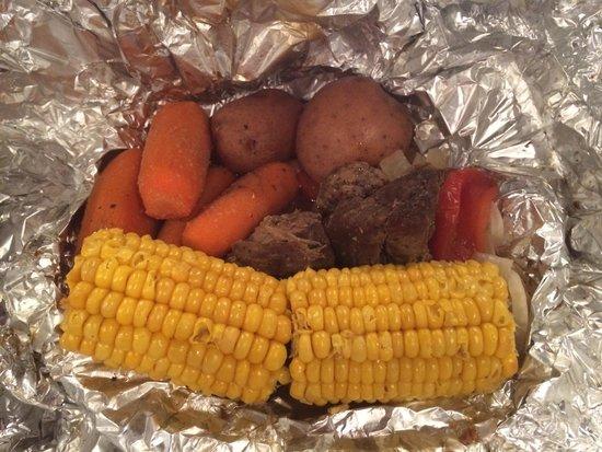 Cracker Barrel: Fire camp beef.