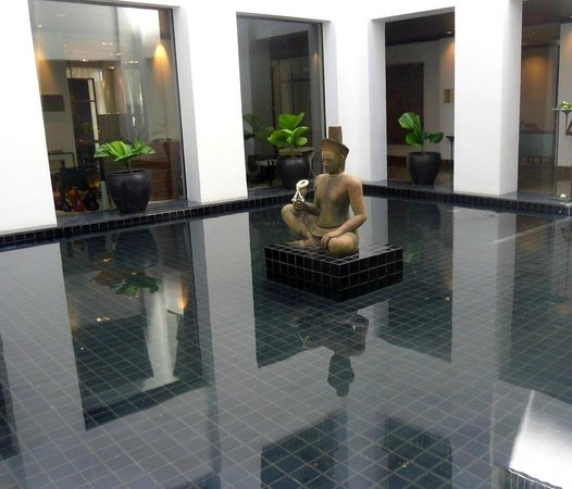 The Sukhothai Bangkok: One of the many features continuing the tranquil feel of the hotel
