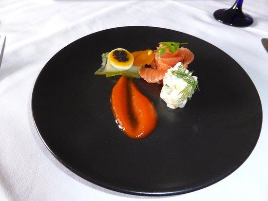 Taychreggan: Cured salmon