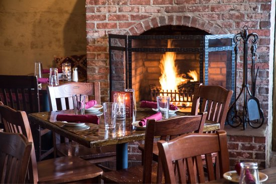 Agave: Cozy Fireside Dining!
