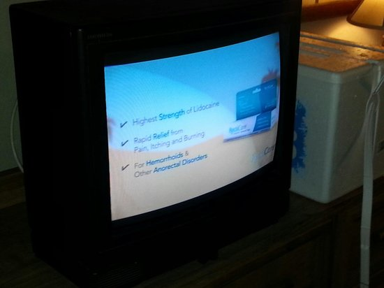 Budget Host Inn NAU / Downtown Flagstaff: Plasma TV:)