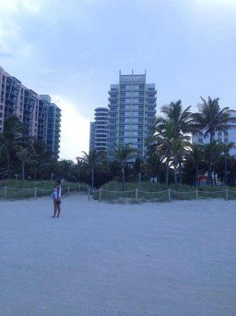 Royal Palm South Beach Miami, A Tribute Portfolio Resort : вид на отель со стороны пляжа