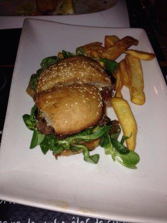 L'Estaminet : Burger first try
