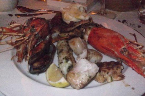 Maradiva Villas Resort and Spa: So tasty seafood