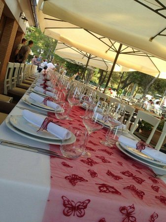 Navetta: Table ready for my birthday party
