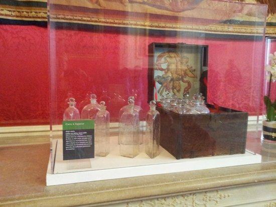 Château de Chambord : bouteilles d'alcool