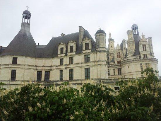 Château de Chambord : vue château