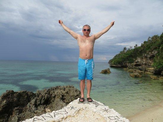 Lingganay Boracay Hotel Resort: пляж отеля