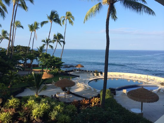 Royal Kona Resort: view from room