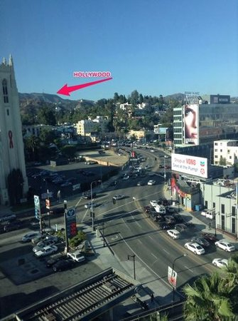 Loews Hollywood Hotel : look very carefully for the $20 a night more view
